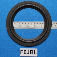 Foamrand van 6  inch, voor een conusmaat van 12,2 cm (F6jbl)