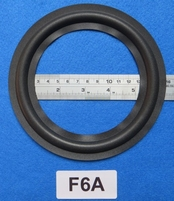 Foam ring, 6 inch, for a unit with a cone size of 120 mm