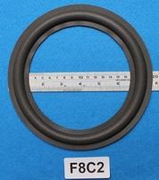 Foamrand van 8 inch, voor een conusmaat van 15,15 cm (F8C2)