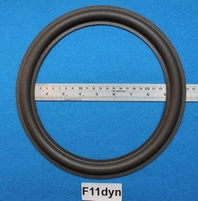 Foam ring, 11 inch, for a unit with a cone size of 20,8 cm