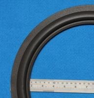 Foamrand van 15 inch, voor een conusmaat van 29 cm (F15tan)