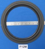 Foamrand van 12 inch, voor een conusmaat van 23 cm (F12m)