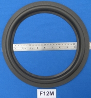 Foam ring, 12 inch, for a unit with a cone size of 23 cm
