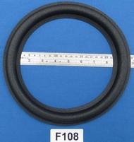 Foamrand van 10 inch, voor een conusmaat van 19,3 cm  (F108)