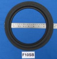 Foamrand van 10 inch, voor een conusmaat van 19,3 cm (F10sb)