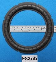 Foamrand van 8 inch, voor een conusmaat van 14,7 cm (F83rib)