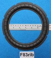Foam ring, 8 inch, for a unit with a cone size of 14,7 cm