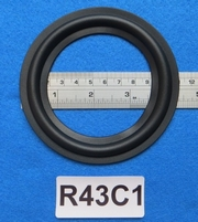 Rubber ring, 4,25 inch, for a unit with a cone size of 8,2 c