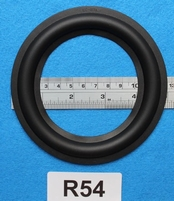 Rubber ring, 5 inch, for a unit with a cone size of 9,1
