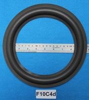 Foamrand van 10 inch, voor een conusmaat van 18,6 cm (F10C4d