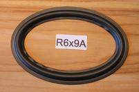 Rubber rand van 9 x 6 inch, voor een conusmaat van 20 / 13,2