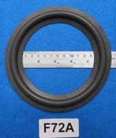 Foamrand van 7 inch, voor een conusmaat van 12,5 cm (f72A)