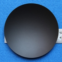 Plastic dust-cap, 96 mm, mounted inverted