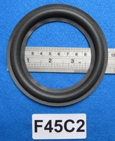 Foam ring, 4,5 inch, for a unit with a cone size of 8,6 cm