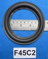 Foamrand van 4,5  inch, voor een conusmaat van 8,6 cm (F45C2