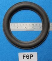 Foamrand van 6  inch, voor een conusmaat van 11,2 cm (F6P)
