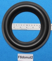 Foam ring, 8 inch, for a unit with a cone size of 13,3 cm