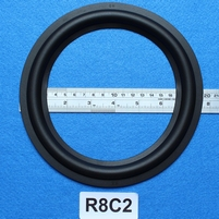Rubber ring, measures 8 inch, for a 15,1 cm cone