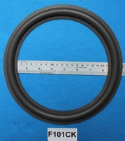 Foam ring, 10 inch, for a unit with a cone size of 19,4 cm