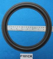 Foamrand van 10 inch, voor een conusmaat van 19,4 cm