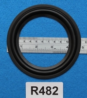 Rubber ring, 4,75 inch, for a unit with a cone size of 9 cm