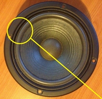 Foam ring (6 inch) for JBL A606 / A-606 woofer