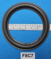 Foamrand van 8 inch, voor een conusmaat van 15,6 cm (F8C7)