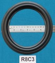 Rubber rand van 8 inch, voor een conusmaat van 15 cm (R8C3)