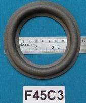 Foamrand van 4,5  inch, voor een conusmaat van 8,2 cm (F45C3