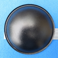 Dust cap, paper, 110 mm, shiny black