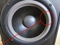 Foamrand (6 inch) voor Infinity Reference 11 MK2 woofer