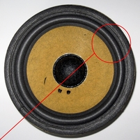 Foamrand voor Mission Model 70 woofer (6 inch)