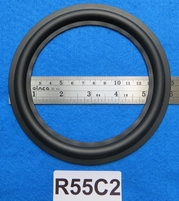 Rubber ring, 5,5 inch, for a unit with a conesize of 11,7 cm
