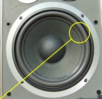 Foam ring (10 inch) for Jamo J-122 woofer