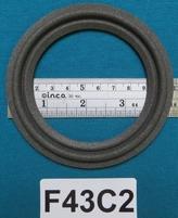 Schaumstoff Sicke (4,25 Zoll) für 8 Zm Kegel / Membran