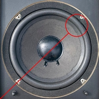 Foamrand voor Acoustic Research AR18S woofer (8 inch)