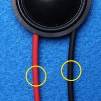 Schrumpfschlauch, rot und schwarz, 2 x 10 cm