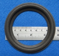 Foam ring, 4 inch, for a unit with a cone size of 7,4 cm