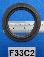 Foamrand van 3,25 inch, voor een conusmaat van 6,4 cm (F33C2