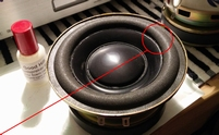 Foam ring (4 inch) for Sony SS-X100 woofer