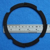 Gasket for 5 inch woofer, 4 pieces make one gasket