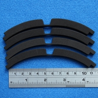 Gasket for 6 inch woofer, 4 pieces make one gasket