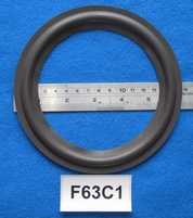 Foam ring, 6,25 inch, for a unit with a cone size of 12,4 cm