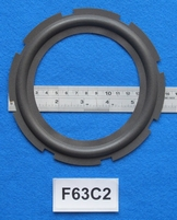 Foam ring, 6,25 inch, for a unit with a cone size of 12,1 cm