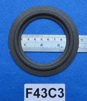 Foamrand van 4,25  inch, voor een conusmaat van 7,5 cm