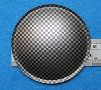 Plastick stofkap van 75 mm