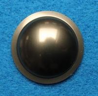 Plastick stofkap van 26 mm, bronskleurig