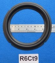 Rubber ring, measures 6 inch, for a 12,01 cm cone