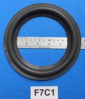 Foamrand van 7 inch, voor een conusmaat van 13 cm (F7C1)