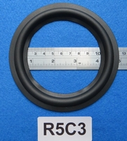 Rubber ring, 5 inch, for a unit with a cone size of 9,4